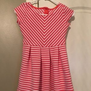 Gymboree Textured Skater Dress with Box Pleats